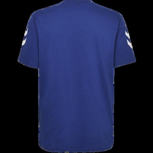 HUMMEL GO COTTON T-SHIRT S/S, TRUE BLUE, packshot