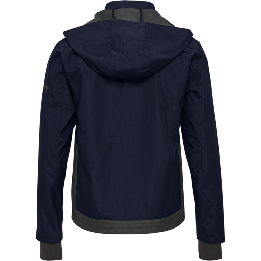 hmlNORTH SHELL JACKET, MARINE, packshot