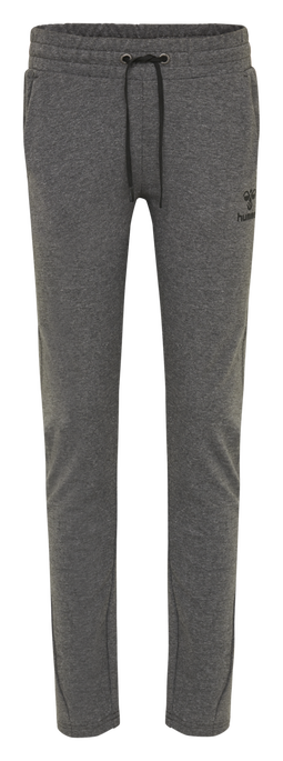 hmlNICA ENGINEERED PANTS, DARK GREY MELANGE, packshot