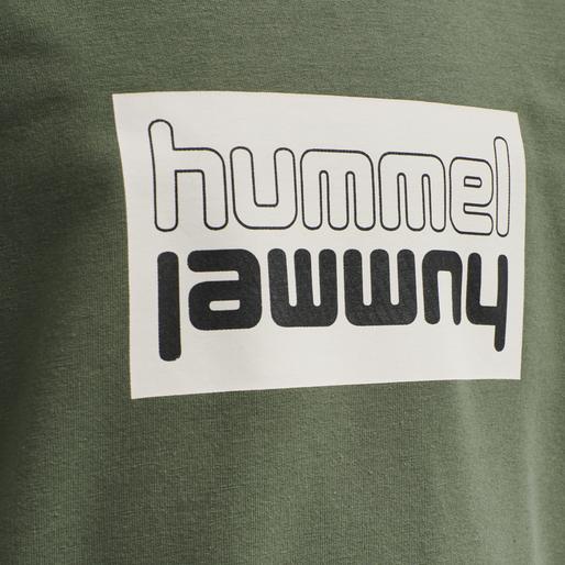 hmlDUO SWEATSHIRT, THYME, packshot