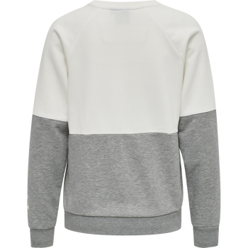 HMLKAIKA SWEAT SHIRT, NINE IRON/BUTTERCUP, packshot