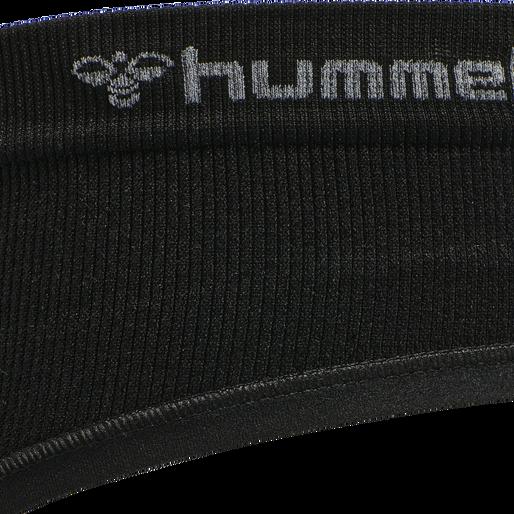 hmlJUNO SEAMLESS HIPSTER, BLACK, packshot