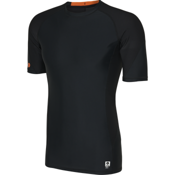 HUMMEL FIRST COMPRESSION SS M, BLACK, packshot