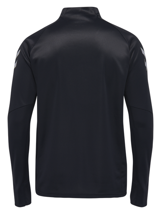 TECH MOVE HALF ZIP SWEATSHIRT, BLACK, packshot