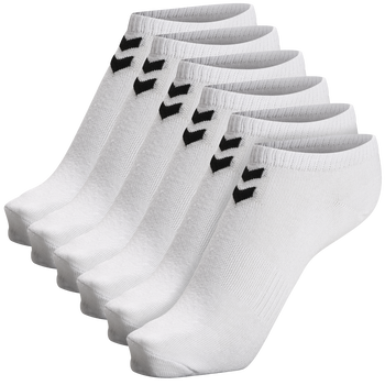 hmlCHEVRON 6-PACK ANKLE SOCKS, WHITE, packshot