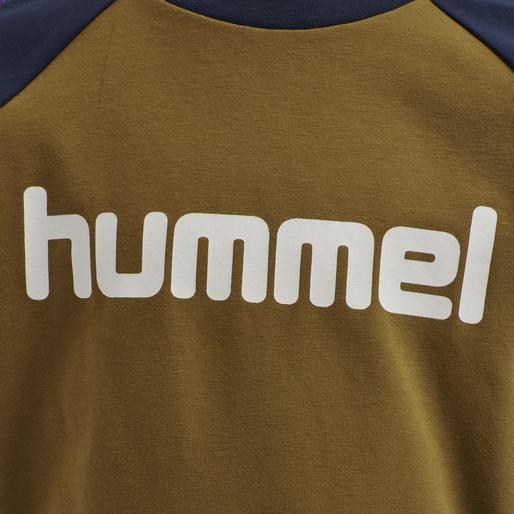 hmlBOYS T-SHIRT LS, RUBBER, packshot