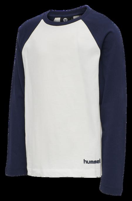HMLLEX T-SHIRT L/S TEE, DRESS BLUE, packshot