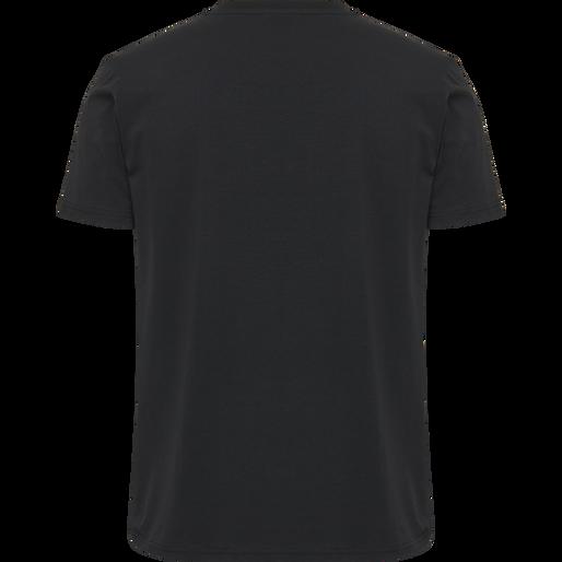 hmlSIGGE T-SHIRT S/S, BLACK, packshot