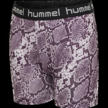 hmlMIMMI TIGHT SHORTS, MAUVE SHADOW, packshot