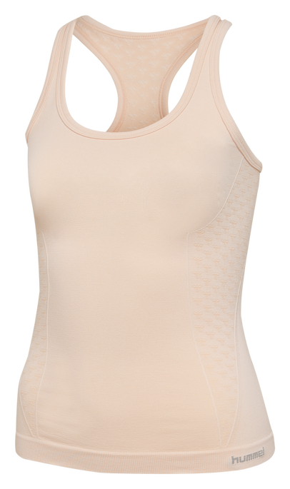 CLASSIC BEE CI SEAMLESS TOP, CLOUD PINK MELANGE, packshot