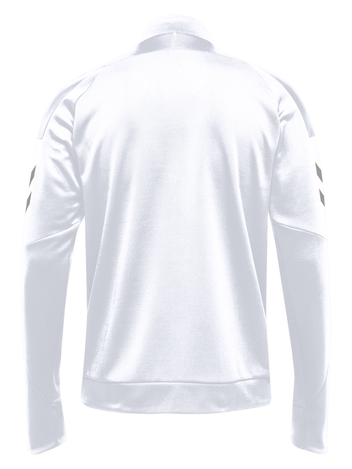 TECH MOVE POLY ZIP JACKET, WHITE, packshot
