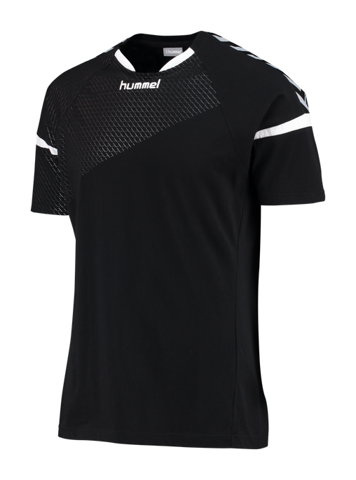 AUTHENTIC CHARGE SS TRAINING JERSEY, BLACK, packshot
