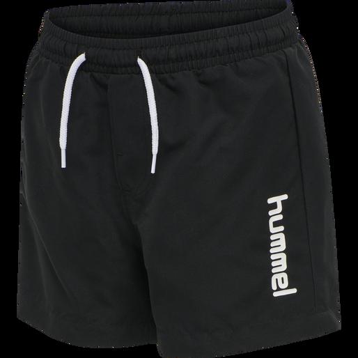 hmlBONDI BOARD SHORTS, BLACK, packshot