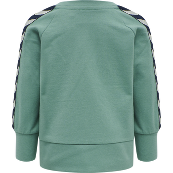 hmlPATOS ZIP JACKET, OIL BLUE, packshot