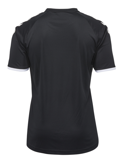 CORE STRIPED SS JERSEY, BLACK/WHITE, packshot