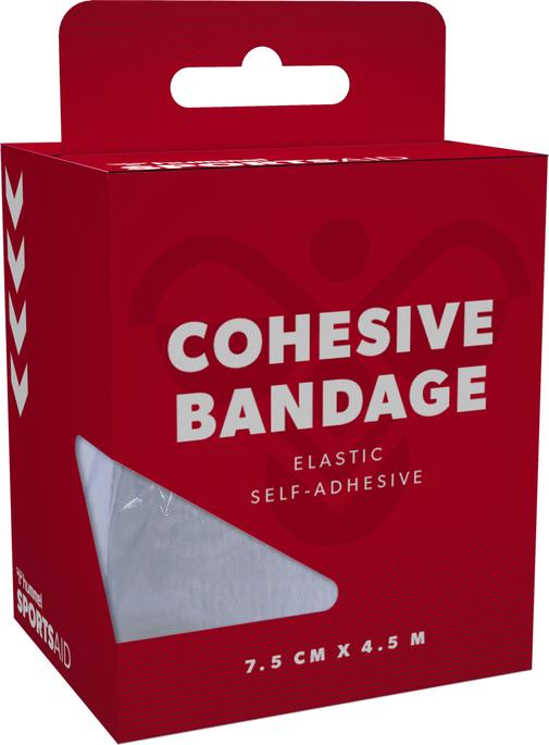 COHESIVE BANDAGE, WHITE, packshot