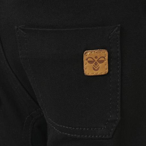 hmlLABAN OVERALLS, BLACK DENIM, packshot