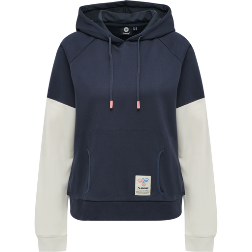 hmlCEDAR HOODIE, BLUE NIGHTS, packshot