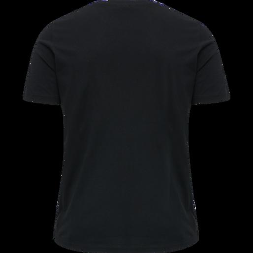 hmlKIRBY T-SHIRT, BLACK, packshot