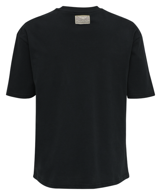 hmlGRAPHIC T-SHIRT, BLACK, packshot