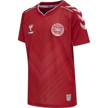 DBU HOME KIDS WOMAN JERSEY SS, TANGO RED, packshot