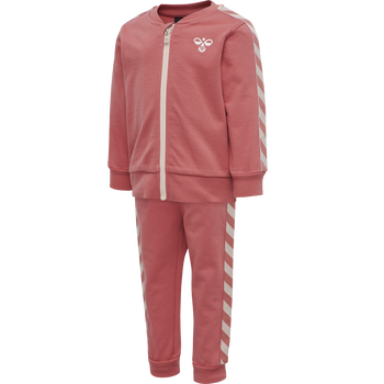 hmlBILLE TRACKSUIT , FADED ROSE , packshot