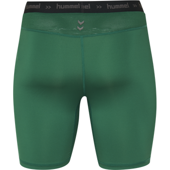 HUMMEL FIRST PERFORMANCE KIDS TIGHT SHORTS, EVERGREEN, packshot