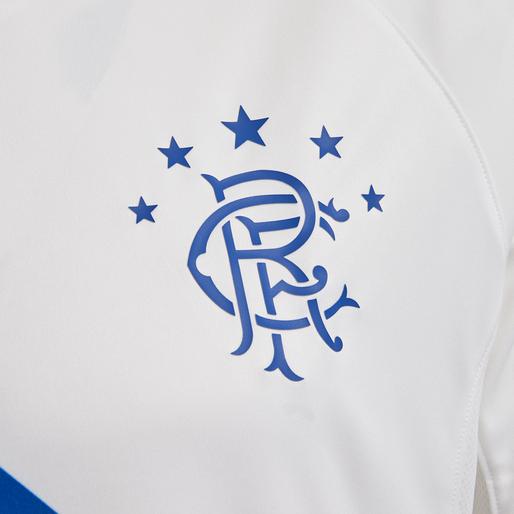 RANGERS FC AWAY 18/19 JERSEY S/S, WHITE/BLUE/RED, packshot