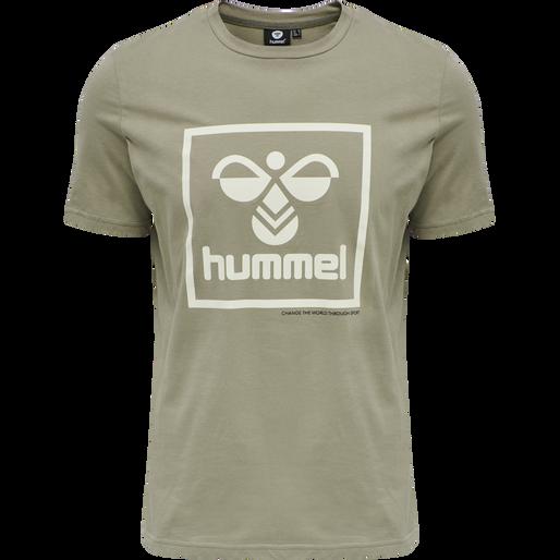 hmlISAM T-SHIRT, VETIVER, packshot