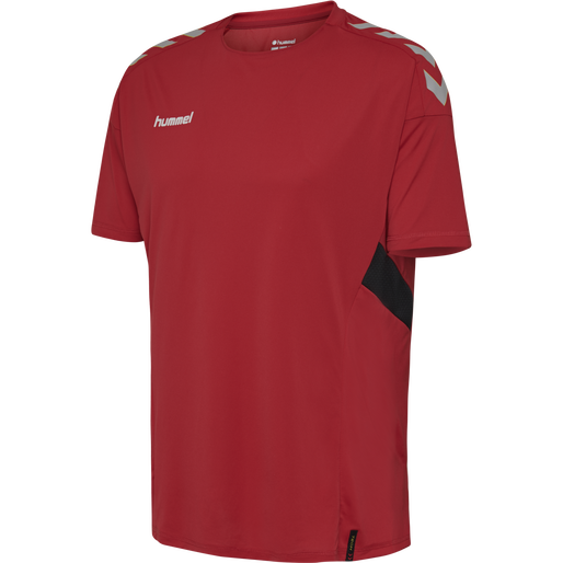 TECH MOVE JERSEY S/S, TRUE RED, packshot