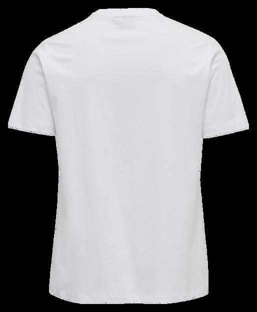 hmlWEST COAST T-SHIRT S/S, WHITE, packshot