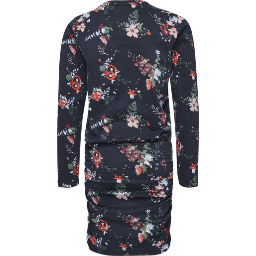 HMLLINE DRESS L/S, DARK NAVY, packshot
