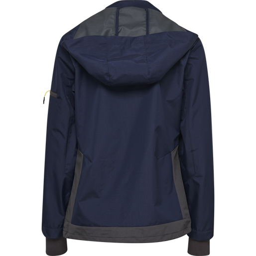 hmlNORTH SHELL JACKET WOMAN, MARINE, packshot