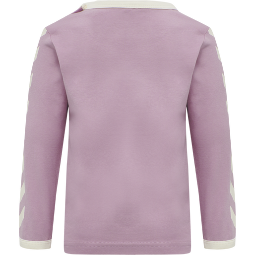 hmlFLIPPER T-SHIRT L/S, MAUVE SHADOW, packshot