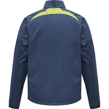 hmlLEAD PRO TRAINING JACKET/WINDBREAKER, DARK DENIM, packshot