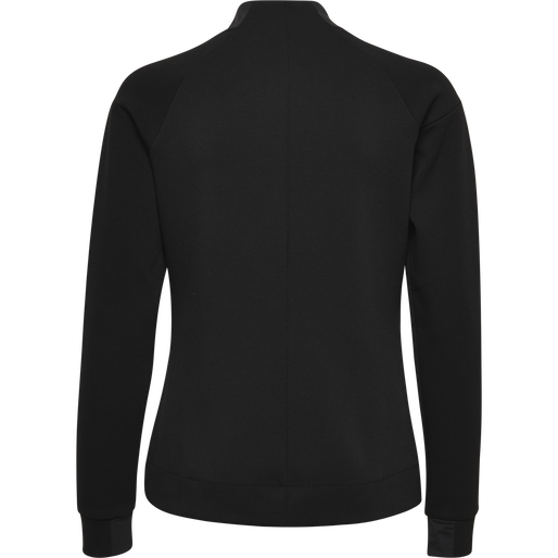 HMLCLIO ZIP JACKET, BLACK, packshot