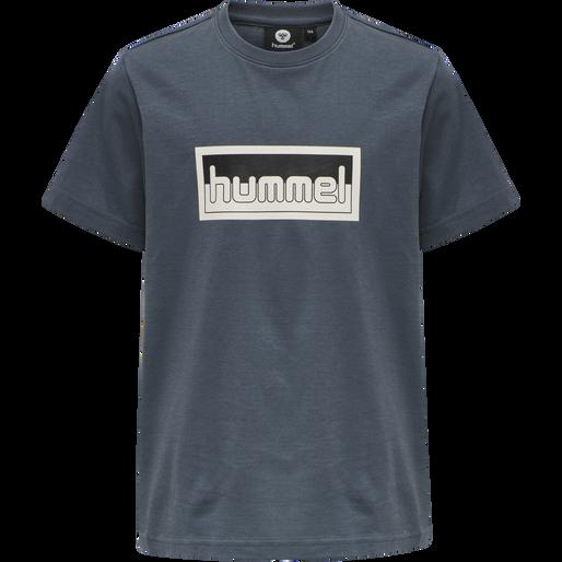 hmlMONO T-SHIRT S/S, OMBRE BLUE , packshot