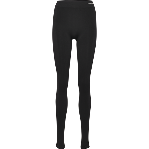 SUE SEAMLESS TIGHTS, BLACK, packshot