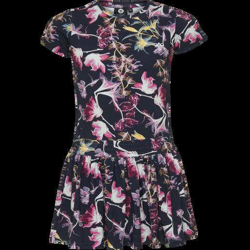 hmlVILDE DRESS S/S , BLACK IRIS, packshot