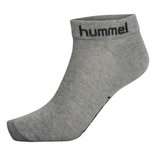 hmlTORNO 3-PACK SOCK, GREY MELANGE, packshot