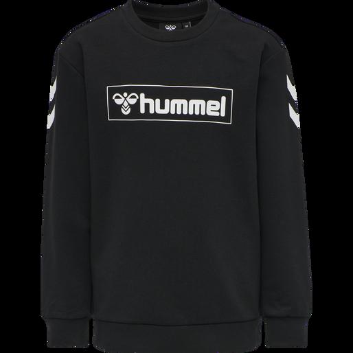 hmlBOX SWEATSHIRT, BLACK, packshot