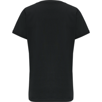 DBU TRAVEL T-SHIRT S/S WOMAN, BLACK, packshot