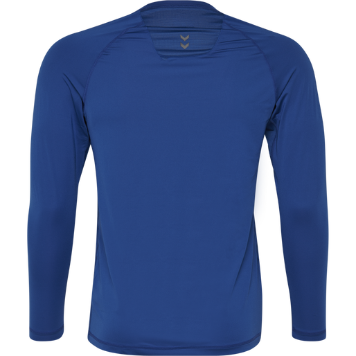 HUMMEL FIRST PERFORMANCE JERSEY L/S, TRUE BLUE, packshot