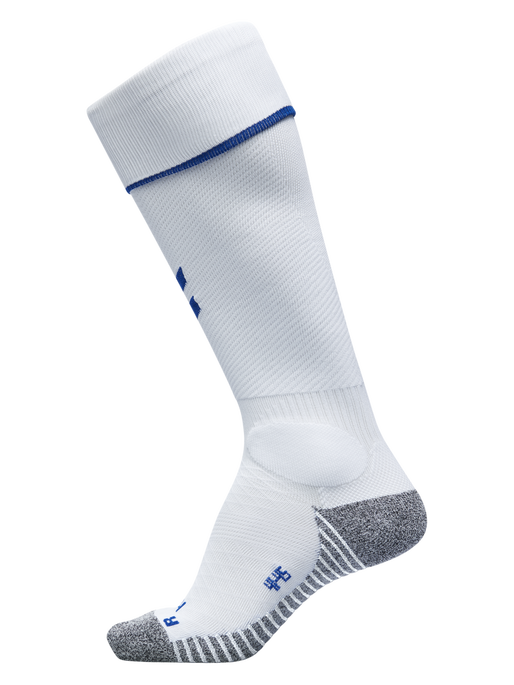 PRO FOOTBALL SOCK, WHITE/TRUE BLUE, packshot