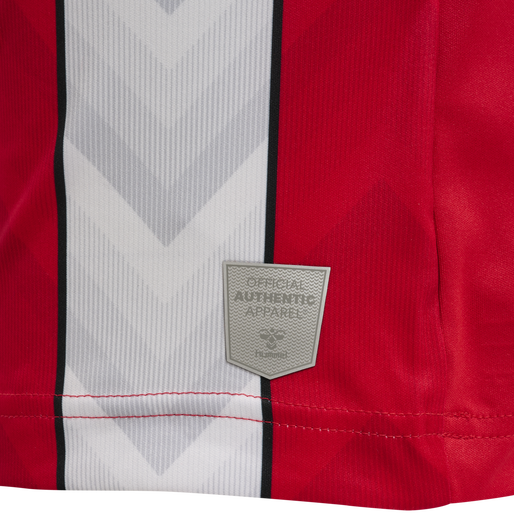 SOU 21/22 HOME JERSEY S/S, RED/WHITE, packshot