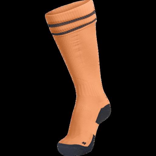 ELEMENT FOOTBALL SOCK , TANGERINE, packshot