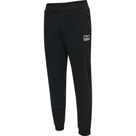 hmlTEMPO PANTS, BLACK, packshot