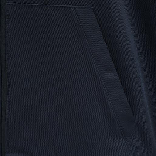 hmlACTION ZIP HOODIE, DARK SAPPHIRE/BLUE CORAL, packshot