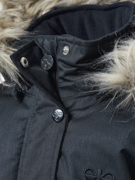 HMLSTINNA COAT, DARK NAVY, packshot