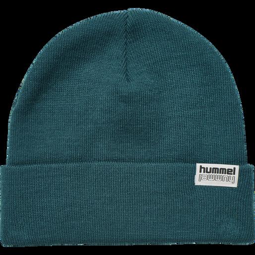 hmlPARK BEANIE, BLUE CORAL, packshot